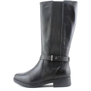 Clarks Womens Merrian Rayna Knee High Boots Size 5